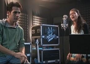 """Ophir Ben-Shetreet sings for her """"The Voice"""" mentor, Aviv Geffen"""