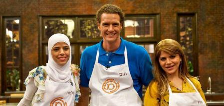 MasterChef finalists Salma, Tom and Jackie