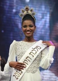 Miss Israel 2013 Yityish Aynaw (photo by Moshe Sasson)