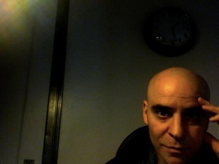 David Rakoff's final Facebook profile picture. He died on August 9, 2012 at the age of 47. (photo credit: via Facebook)