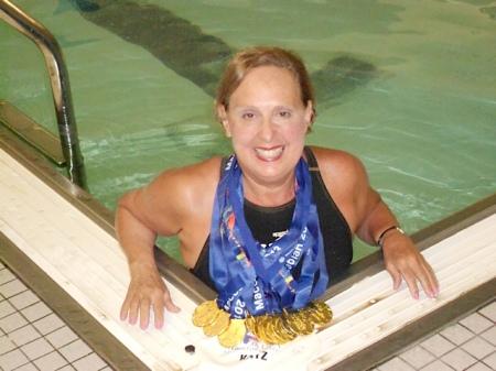 Jane Katz- 13 Maccabiah Medals 2013(3)