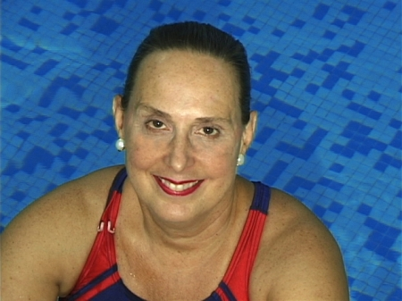 Masters swimming champion and 14-time Maccabiah Games competitor Jane Katz
