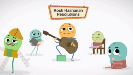 The Schusterman Family Foundation wins break-out video of the year with 'Come Together and Rock Hashanah.' (photo credit: YouTube screenshot)