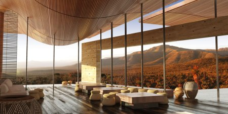Karoo Wilderness Center, Karoo, South Africa. (Courtesy of Field Architecture)