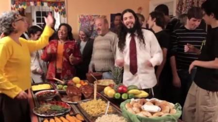 Ari Lesser's 'Give Thanks' (photo credit: YouTube screenshot)