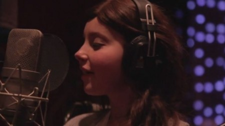 Olivia Wise sings Katy Perry's 'Roar.' (photo credit: YouTube screenshot)