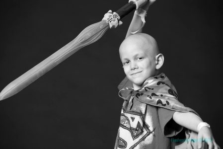 Samuel Sommer is fighting refractory acute myeloid leukemia (photo credit: courtesy of Phyllis Sommer)
