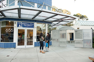 Brandeis Hillel Day School on Brotherhood Way in San Francisco photo/courtesy bhds