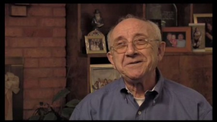 Max Glauben's personal mementos from his time in five concentration camps were stolen this week. (YouTube screenshot)