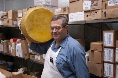 Mark Bodzin appreciates good cheese. (photo credit: Jim Huryk/Courtesy of Mark Bodzin)