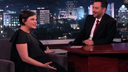 Actress Ginnifer Goodwin on Jimmy Kimmel last week. (YouTube screenshot)