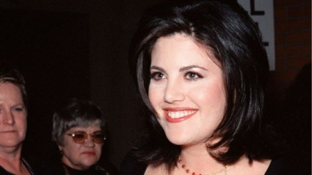 Former White House intern Monica Lewinsky at a Los Angeles premiere in 1999. (Photo credit: Monica Lewinsky image via Shuttershock.)